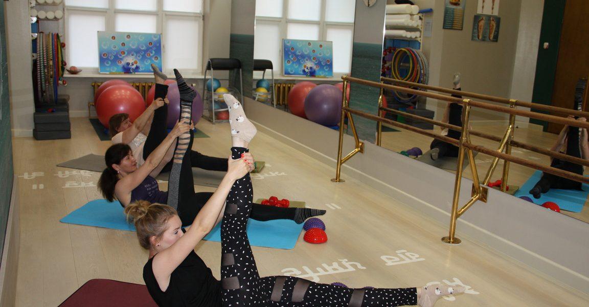 растяжка тела, подвижность суставов
